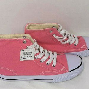 Airwalk Legacee Youth Size 4.5 Pink High Top Sneak